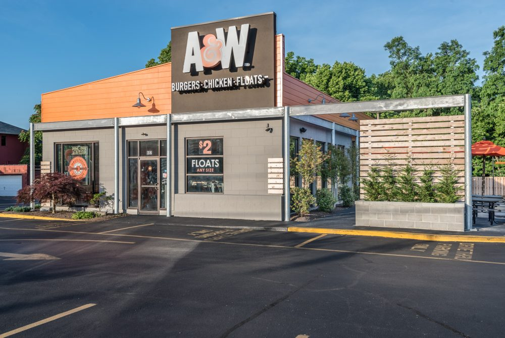 A & W Root Beer Restaurant Lexington KY